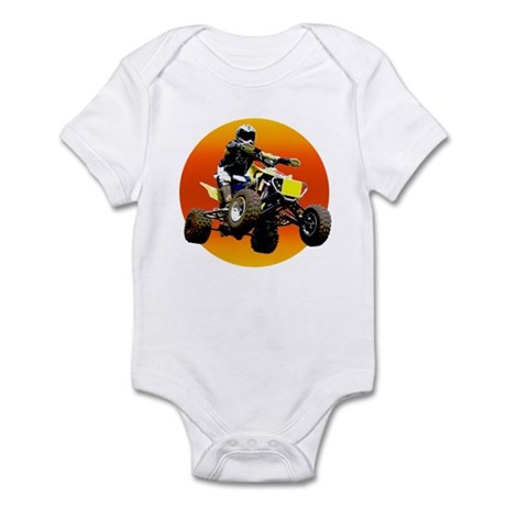 ATV Racing to Sunset Infant Bodysuit