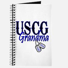 USCG Grandma Dog Tag Journal