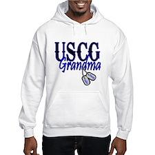 USCG Grandma Dog Tag Hoodie