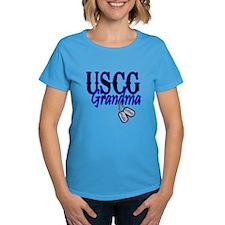 USCG Grandma Dog Tag Tee