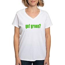 got green? Shirt