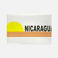 Nicaragua Rectangle Magnet