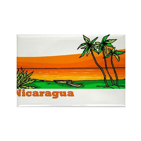 Nicaragua Rectangle Magnet (10 pack)
