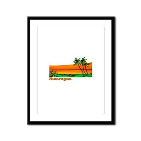 Nicaragua Framed Panel Print