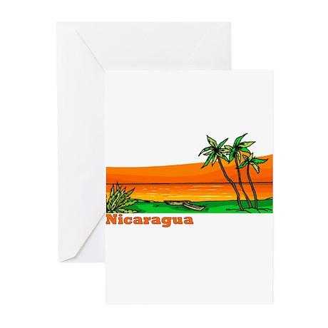 Nicaragua Greeting Cards (Pk of 10)
