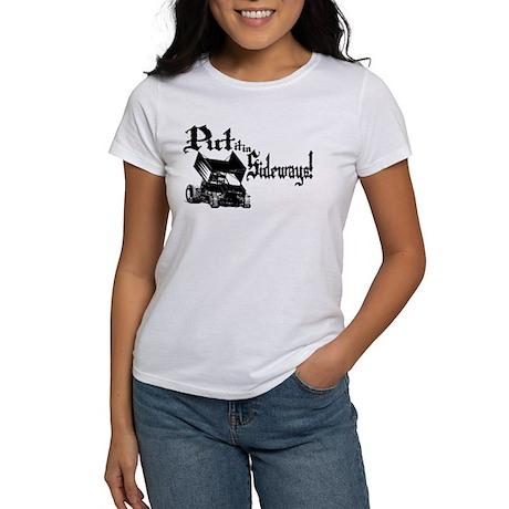 Sprint Car - Sideways 1 Women's T-Shirt