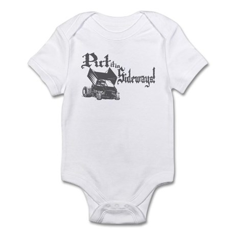 Sprint Car - Sideways 2 Infant Bodysuit