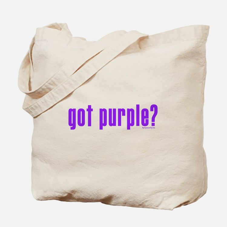 got purple? Tote Bag