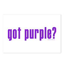 got purple? Postcards (Package of 8)