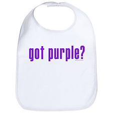 got purple? Bib