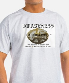 Awareness - Caring Coins Peac T-Shirt