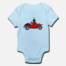 Ladybug Driving Bug Body Suit