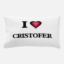 I love Cristofer Pillow Case