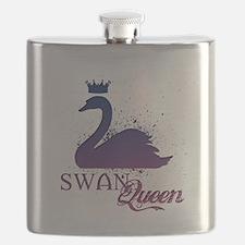 Cute Swans Flask