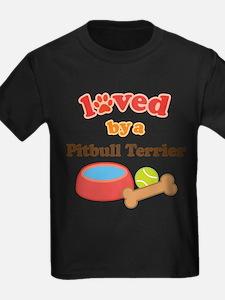 Pitbull Terrier Dog Gif T-Shirt