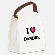 I love Dandre Canvas Lunch Bag