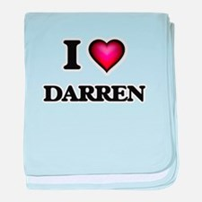 I love Darren baby blanket