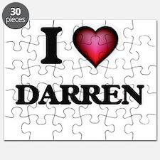 I love Darren Puzzle