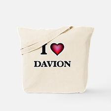 I love Davion Tote Bag