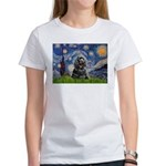 Starry Night / Black Cocke Women's T-Shirt