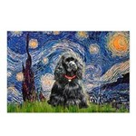 Starry Night / Black Cocke Postcards (Package of 8