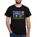 Starry Night / Black Cocke Dark T-Shirt