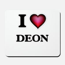 I love Deon Mousepad