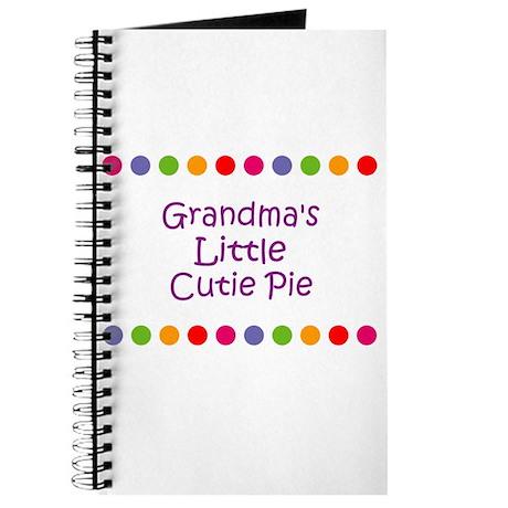 Grandma's Little Cutie Pie Journal