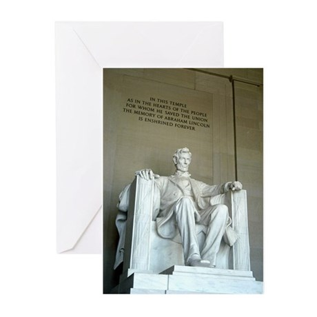 Lincoln Memorial Greeting Cards (Pk of 20)