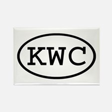 KWC Oval Rectangle Magnet