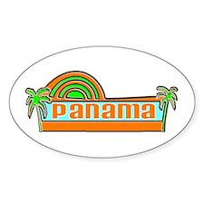 Panama Oval Decal