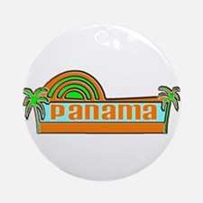 Panama Ornament (Round)