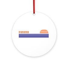 Panama Ornament (Round)