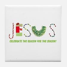 Jesus Tile Coaster