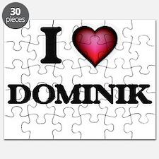 I love Dominik Puzzle