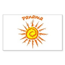Panama Rectangle Decal