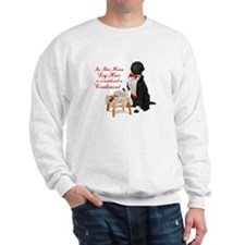 Butler Dog Hair Sweatshirt