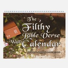 The 2013 Filthy Bible Verse Wall Calendar