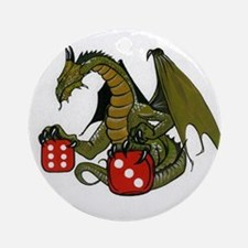 Dice and Dragons Ornament (Round)