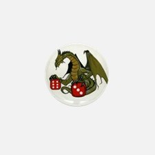 Dice and Dragons Mini Button (10 pack)