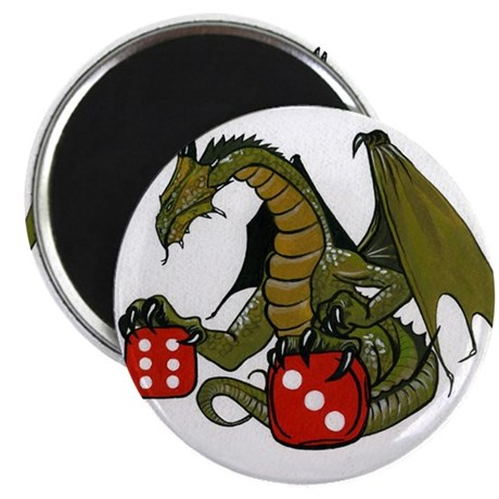 """Dice and Dragons 2.25"""" Magnet (100 pack)"""
