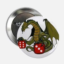 """Dice and Dragons 2.25"""" Button"""