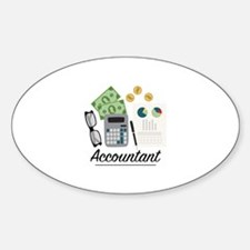 Accountant Profession Decal