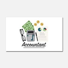 Accountant Profession Car Magnet 20 x 12