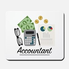 Accountant Profession Mousepad