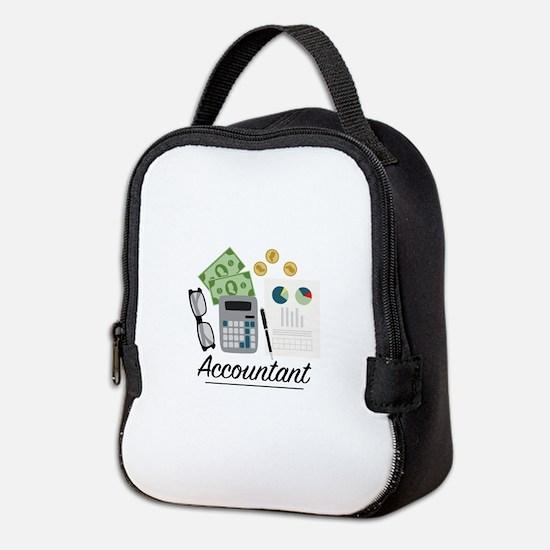 Accountant Profession Neoprene Lunch Bag