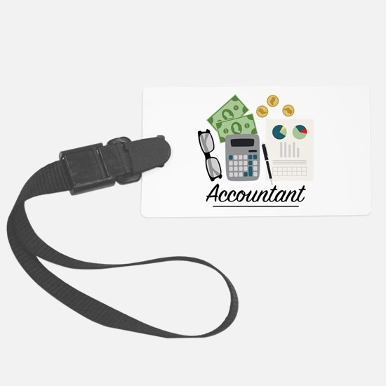 Accountant Profession Luggage Tag