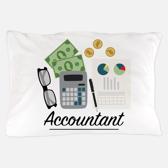 Accountant Profession Pillow Case