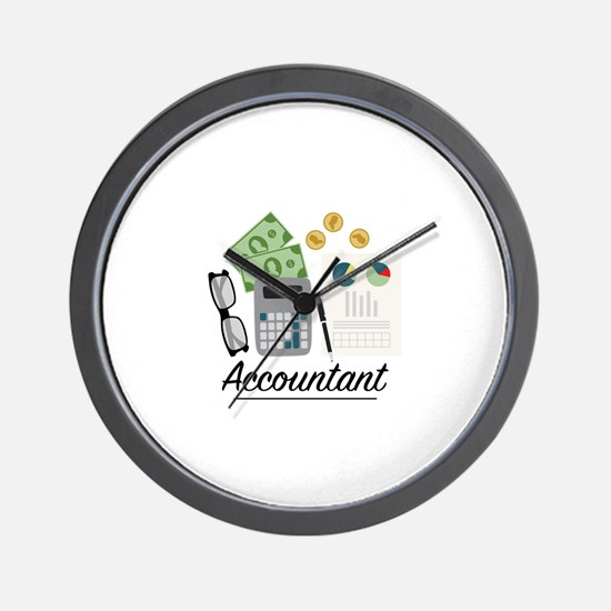 Accountant Profession Wall Clock