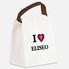 I love Eliseo Canvas Lunch Bag